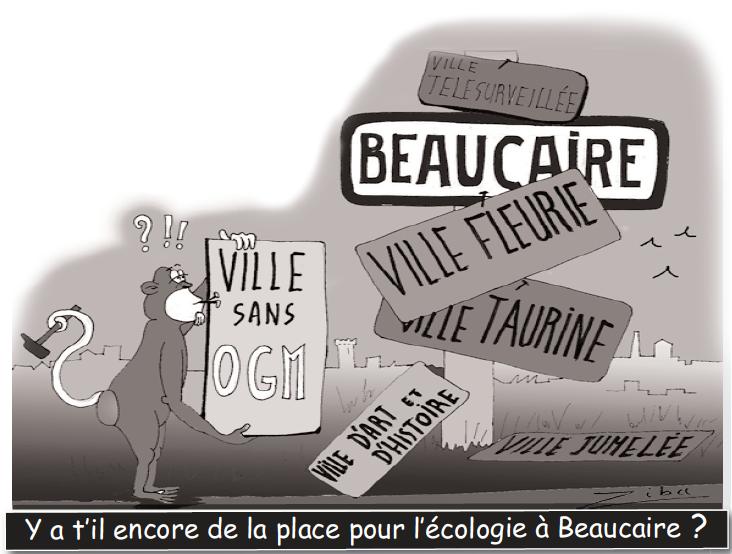 Y a-til encore de la place pour l'écologie à Beaucaire ?