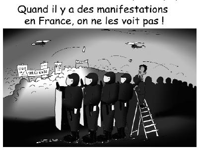 Manifestations en France