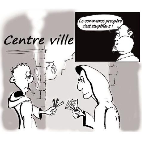 Beaucaire, centre ville