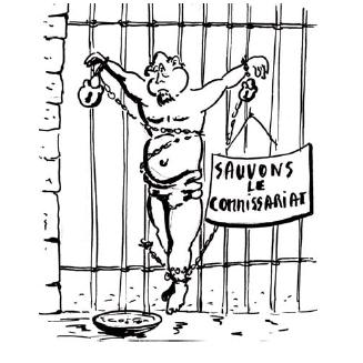 Bourbousson et la fusion des commissariats, par RPB
