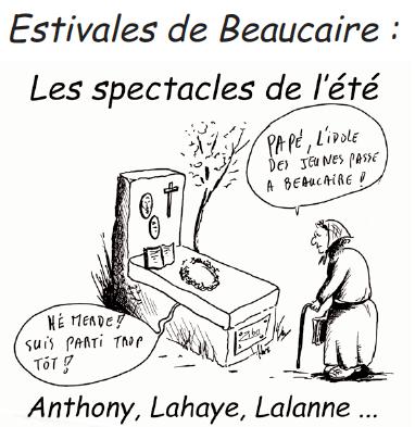 Les Estivales de Beaucaire vues par RPB