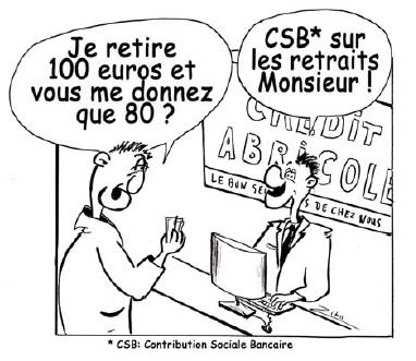 Caricature de RPB