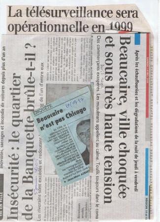 Coupures de journaux
