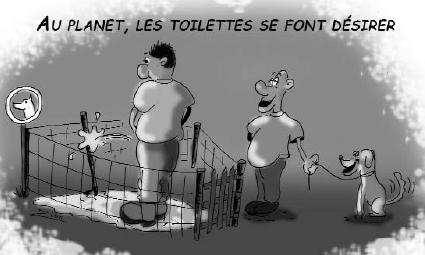 Au Planet, les toilettes se font désirer