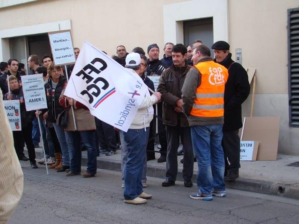 Reagir Pour Beaucaire à la manifestation pour Moncigale