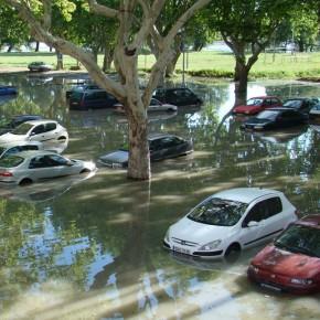 Inondations à Beaucaire