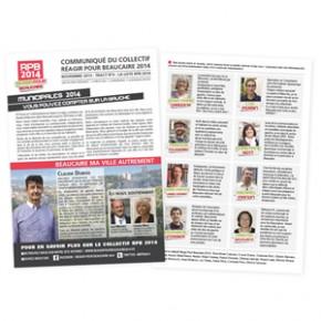 Tract n°4 : la liste RPB 2014