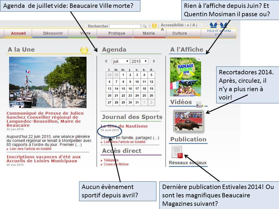 Actualités Beaucaire