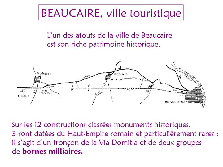 Beaucaire- ville touristique 1-1