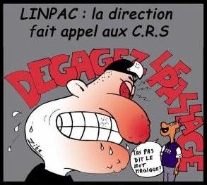 Rencontre avec les salariés de LINPAC