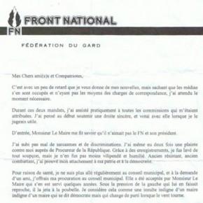 Piqûre de rappel : Bourbousson et le FN